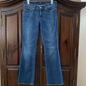7 For All Mankind Bootcut Mid-Rise Jeans sz27